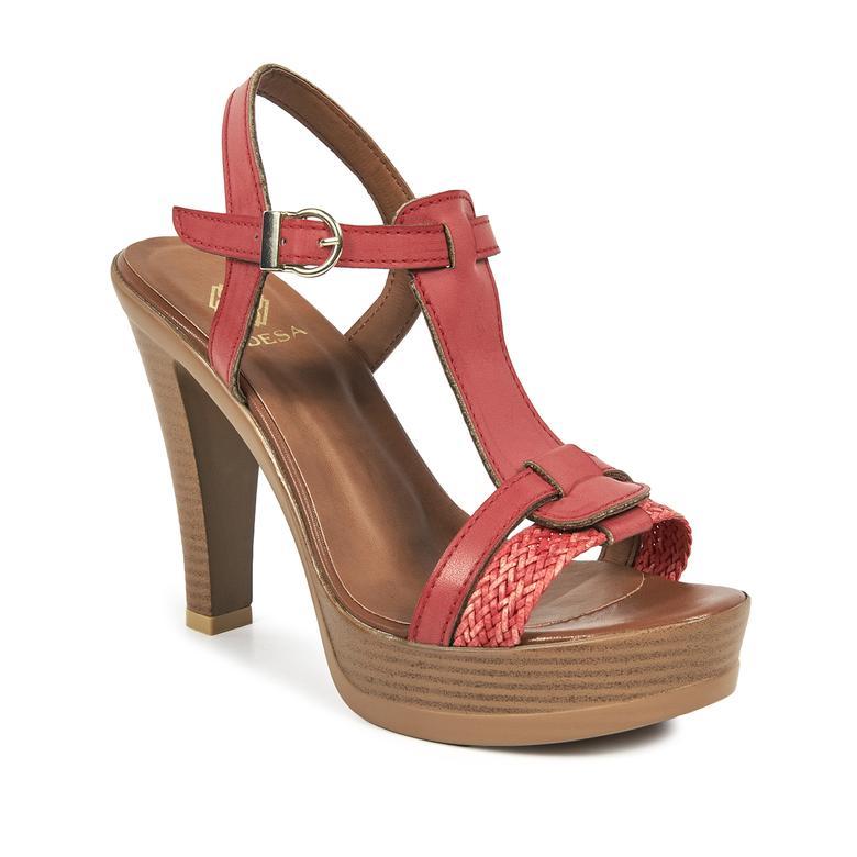 Kadın Topuklu Sandalet 2010041422004