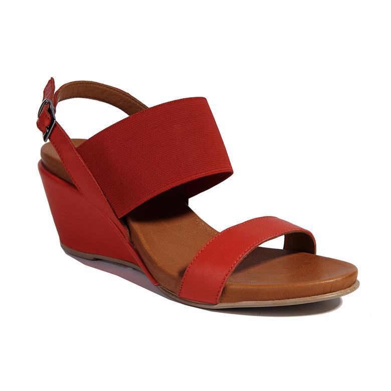 Kadın Dolgu Topuk Sandalet 2010041186019