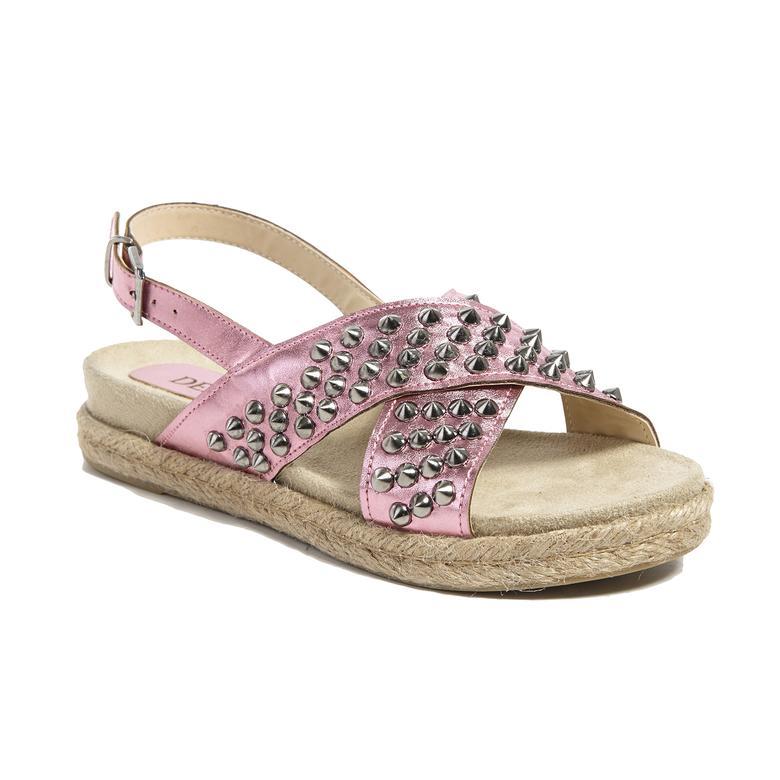 Zımbalı Kadın Sandalet