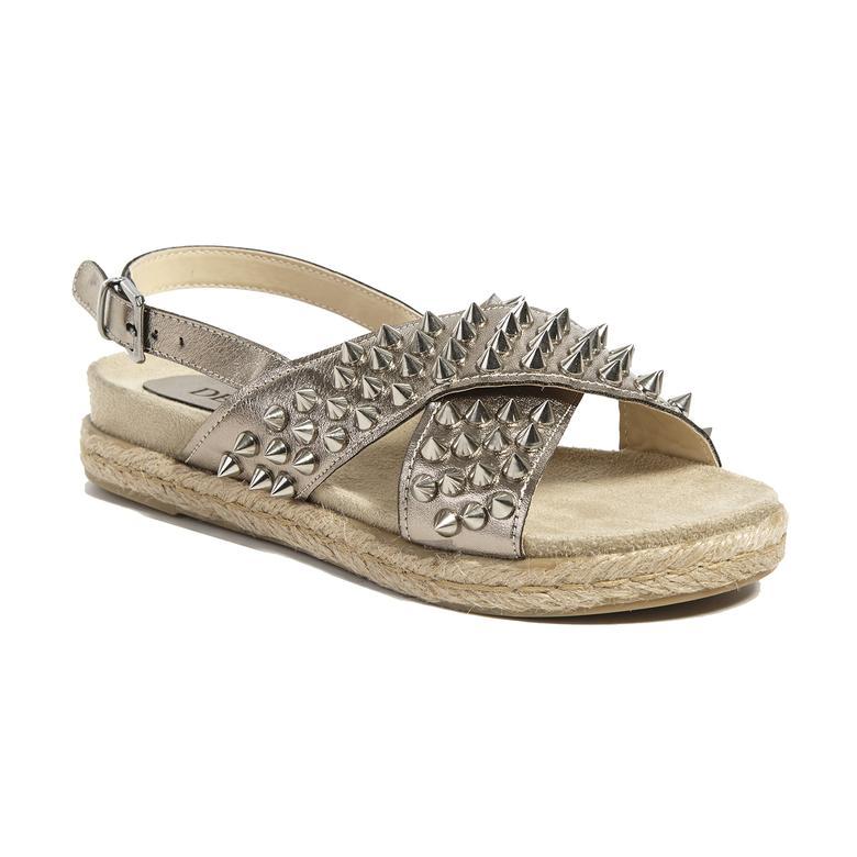 Zımbalı Kadın Sandalet 2010041192011
