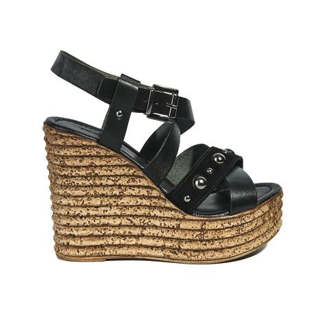 Carine Kadın Dolgu Topuk Deri Sandalet 2010040791001