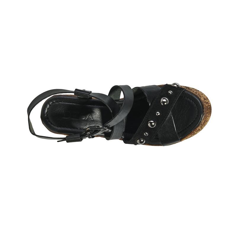 Carine Kadın Deri Sandalet