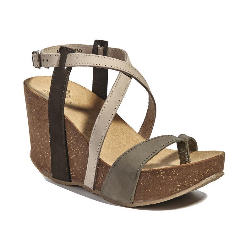 Bome Kadın Dolgu Topuk Sandalet 2010040830008