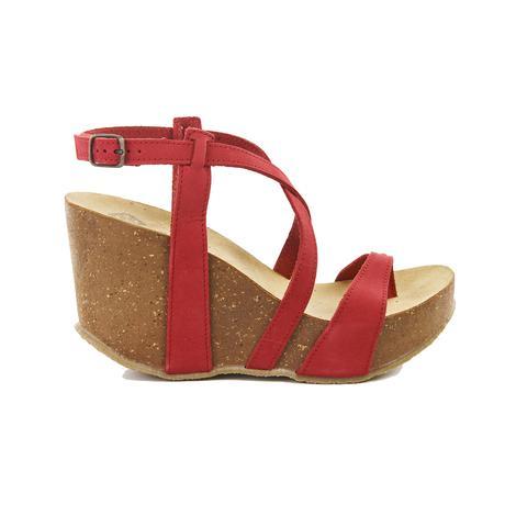 Bome Kadın Dolgu Topuk Sandalet 2010040830013