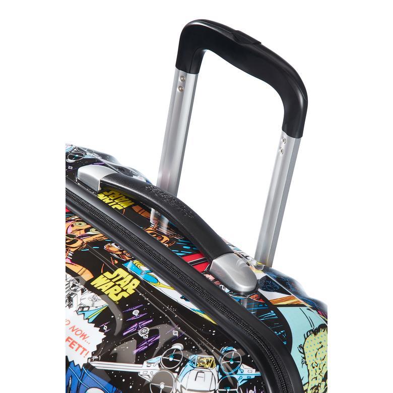 American Tourister - Star Wars Comics Dört Tekerlekli Kabin Boy 55 cm Valiz