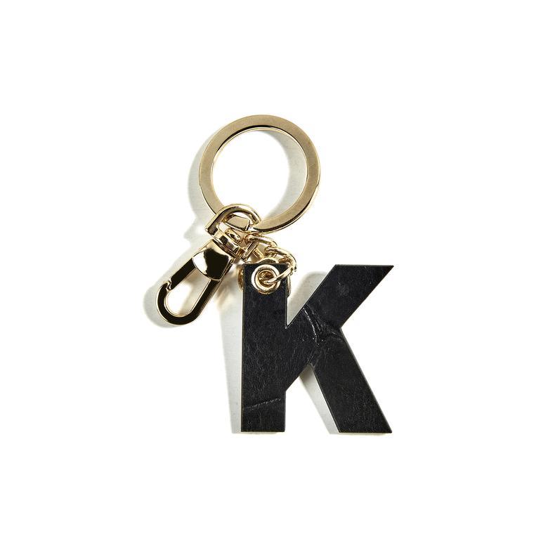 K Harfi Deri Anahtarlık 1010022555001