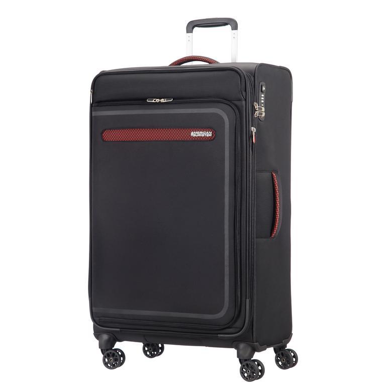 American Tourister - Airbeat - 80 Cm Büyük Boy Kumaş Valiz