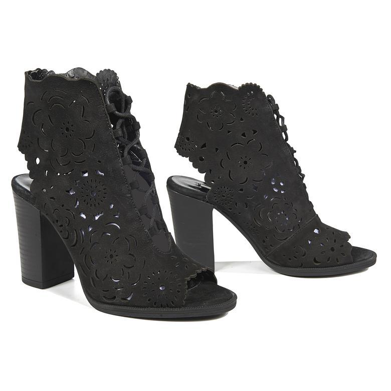 Blossom Kadın Deri Bootie Sandalet