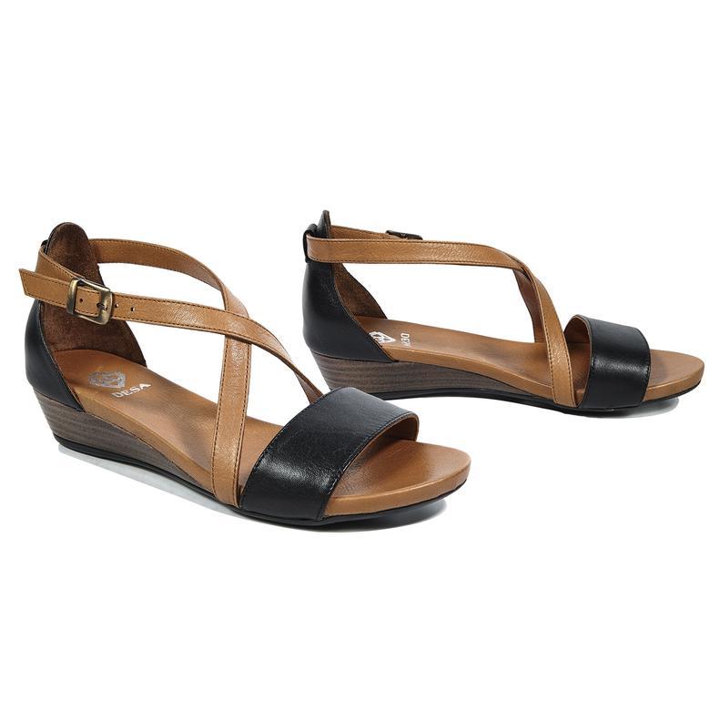 Lucille Kadın Deri Sandalet
