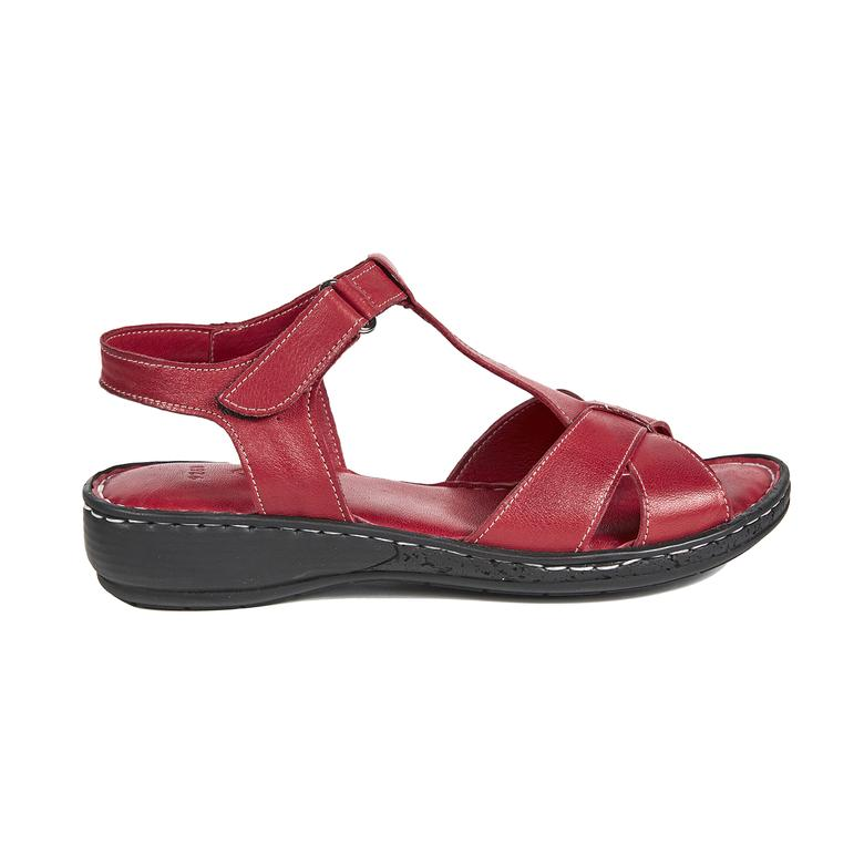 Amara Kadın Deri Sandalet