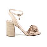 Andalucia Kadın Deri Topuklu Sandalet