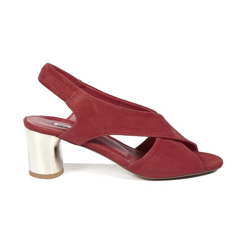 Carson Kadın Deri Topuklu Sandalet
