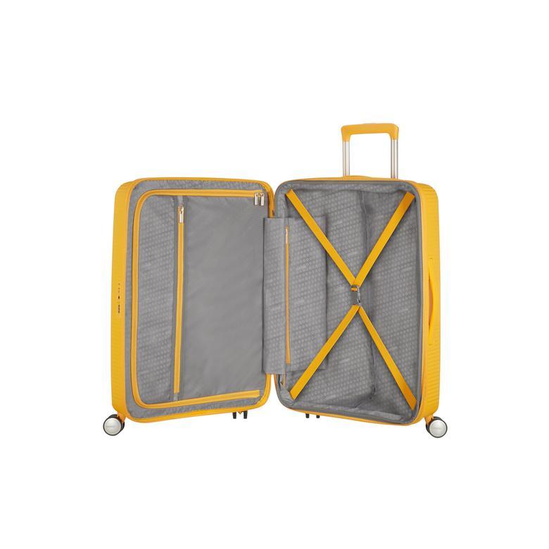 American Tourister Soundbox - 77 cm Büyük Sert Valiz 2010041752005