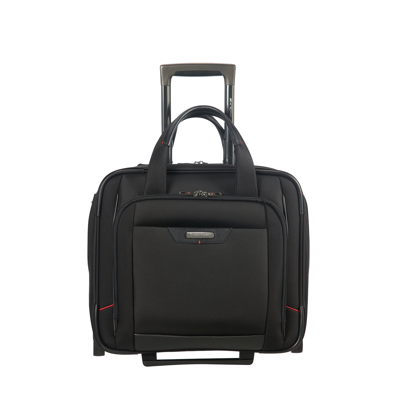 ad40dafb5225f Siyah Samsonite PRO-DLX 4 Tekerlekli Evrak/Laptop Çantası 2010036383   DESA