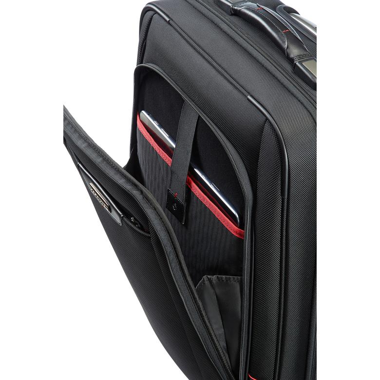 Samsonite PRO-DLX 4 Dört Tekerlekli 55 cm Kabin Boy Valiz 2010036419002