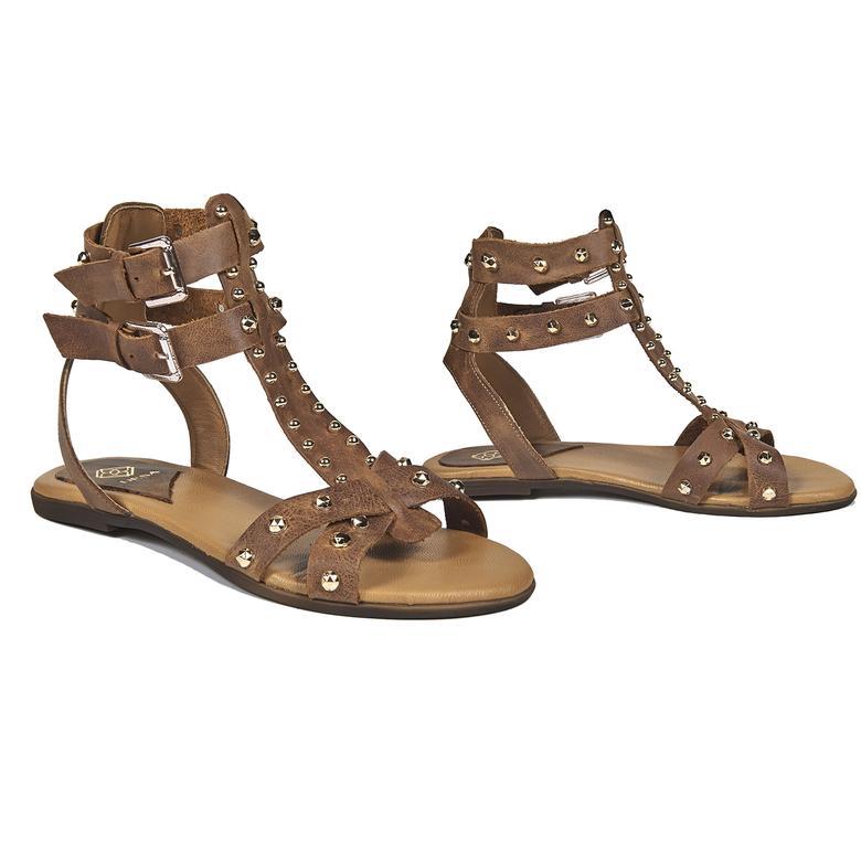 Sage Kadın Deri Sandalet