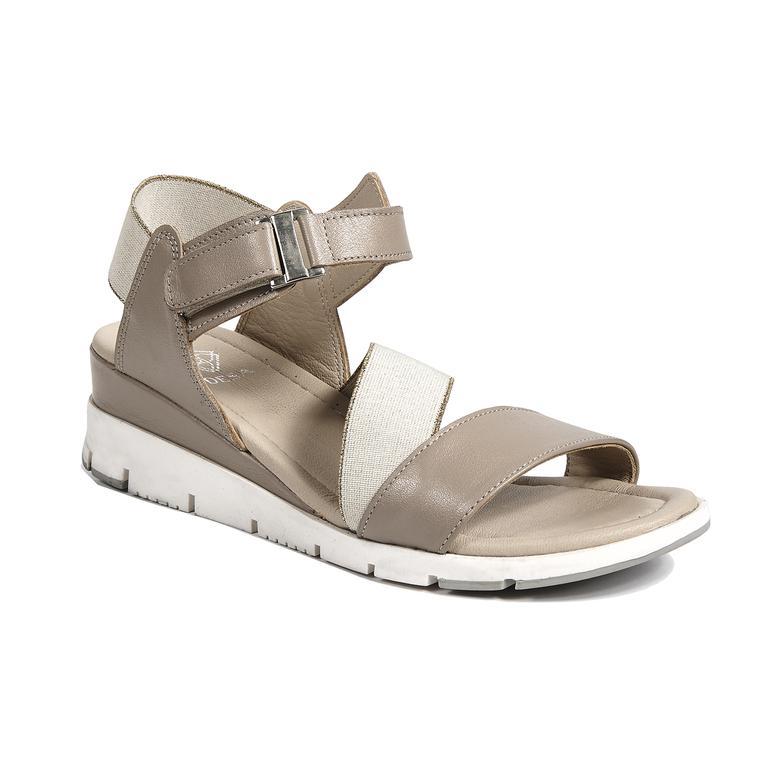Caroline Kadın Deri Sandalet