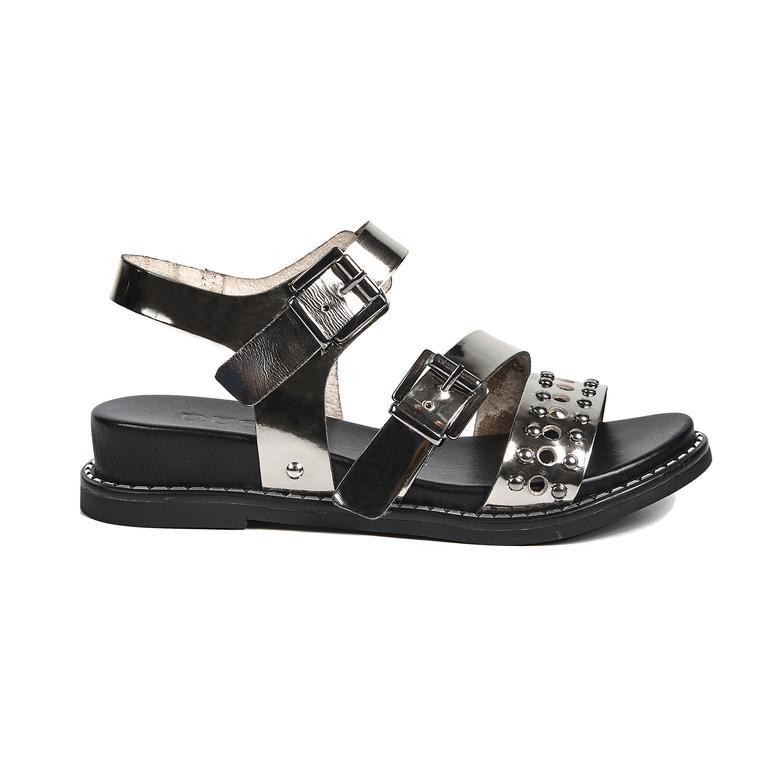 Kalene Kadın Deri Sandalet