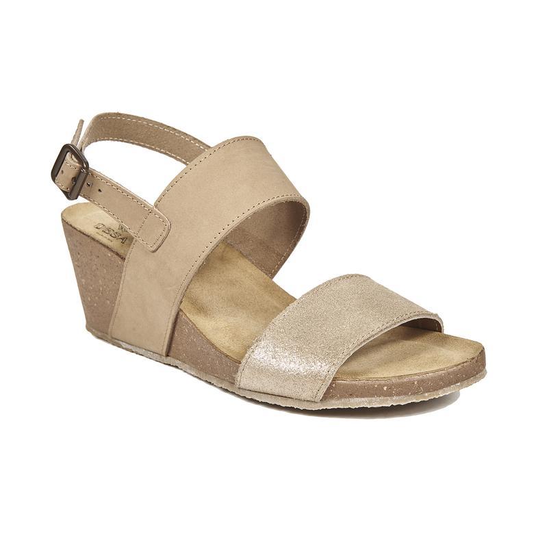 Cassia Kadın Deri Sandalet