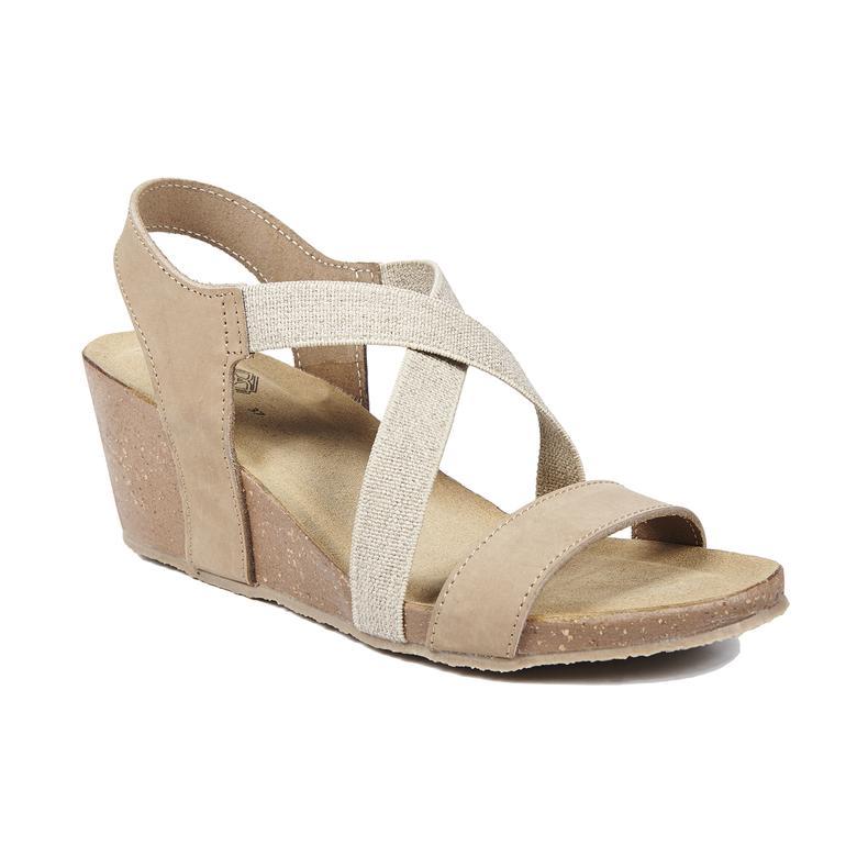 Fiona Kadın Deri Sandalet