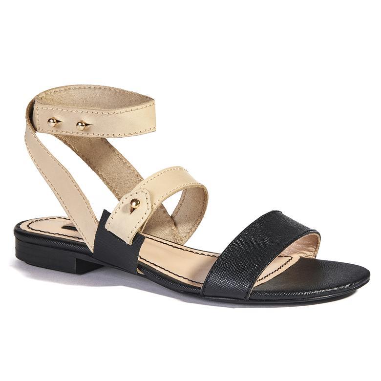 Loya Kadın Deri Sandalet 2010037644003