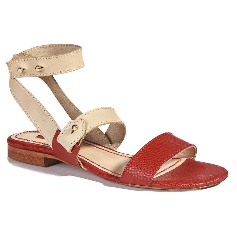 Loya Kadın Deri Sandalet 2010037644007