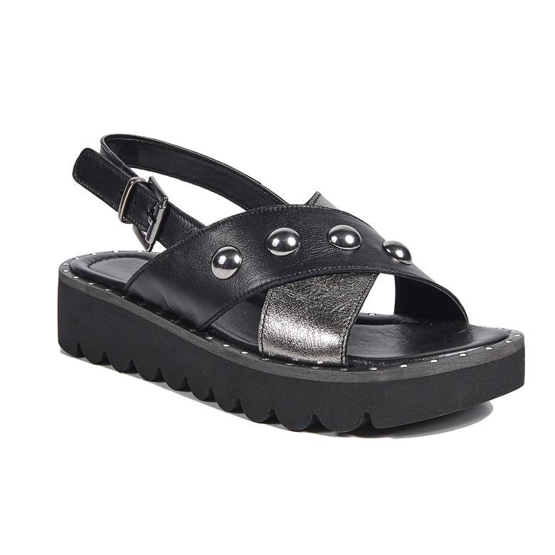 Inez Kadın Deri Sandalet