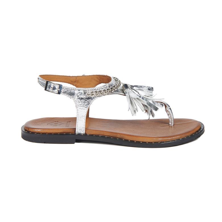 Sonate Kadın Deri Sandalet