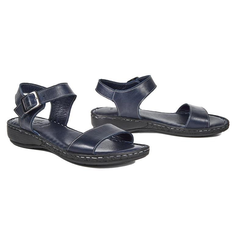 Phoebe Kadın Deri Sandalet