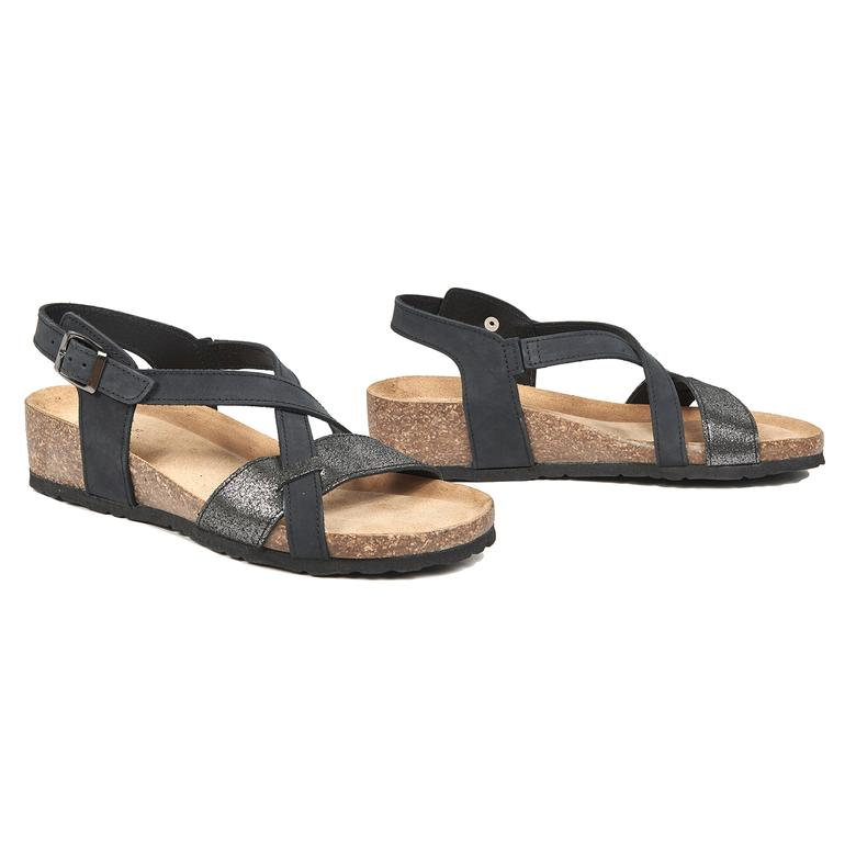 Jennie Kadın Deri Sandalet