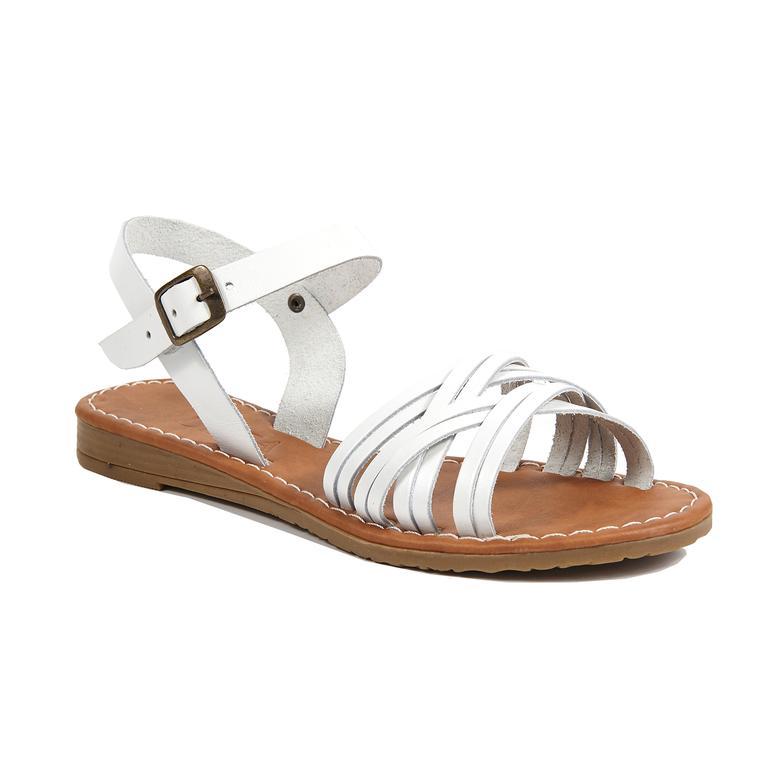 Sia Kadın Deri Sandalet
