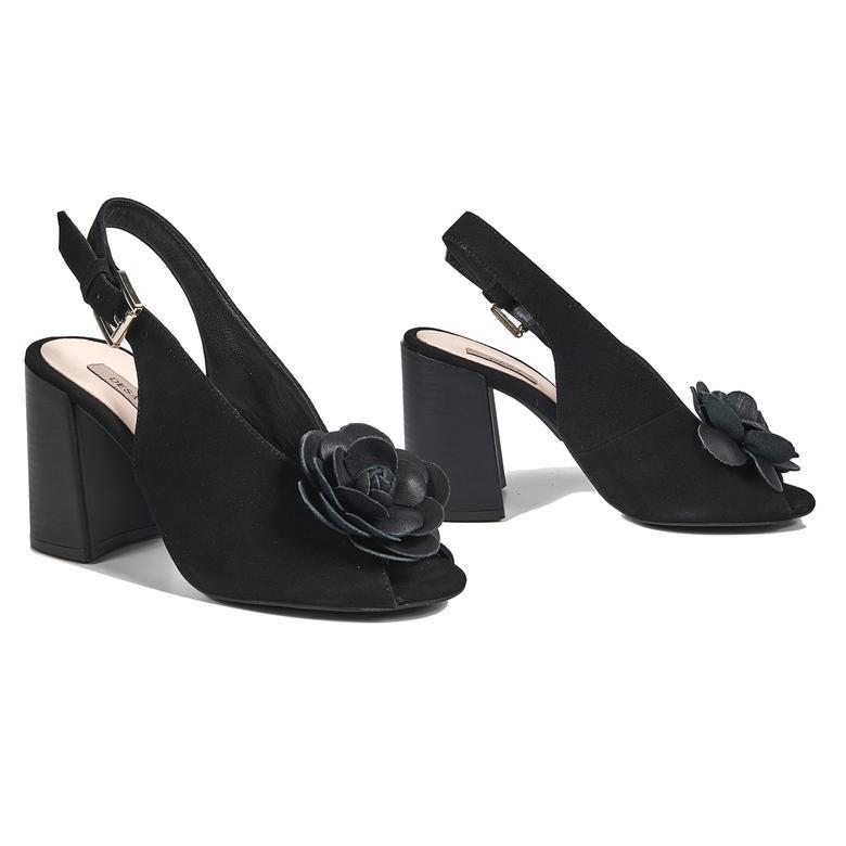 Freya Kadın Deri Topuklu Sandalet