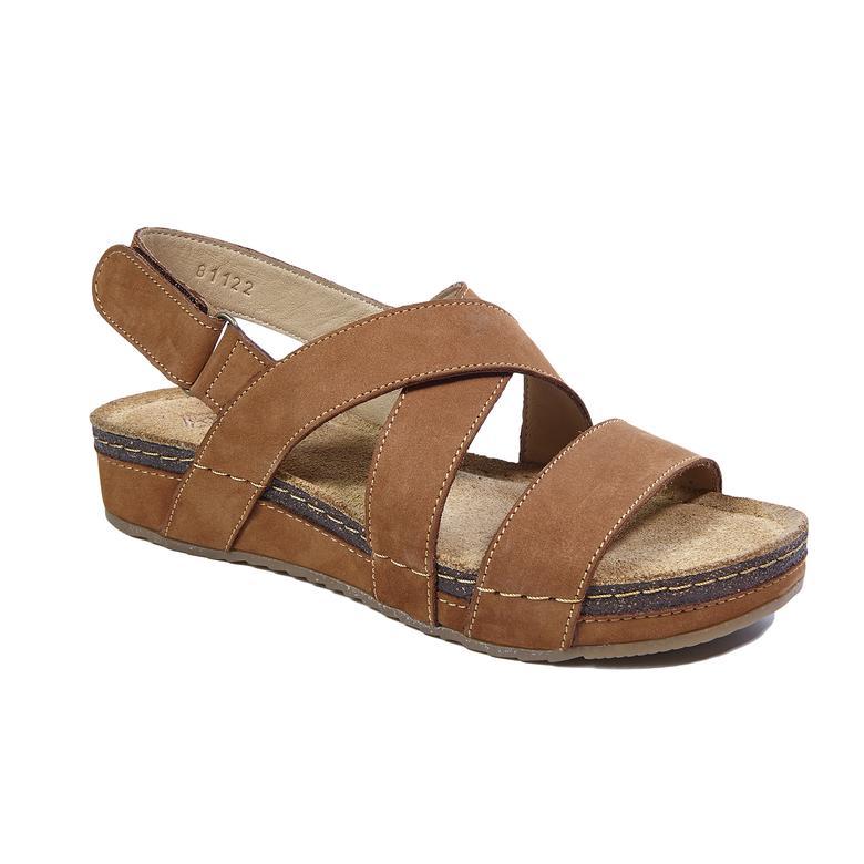 Laney Kadın Deri Sandalet