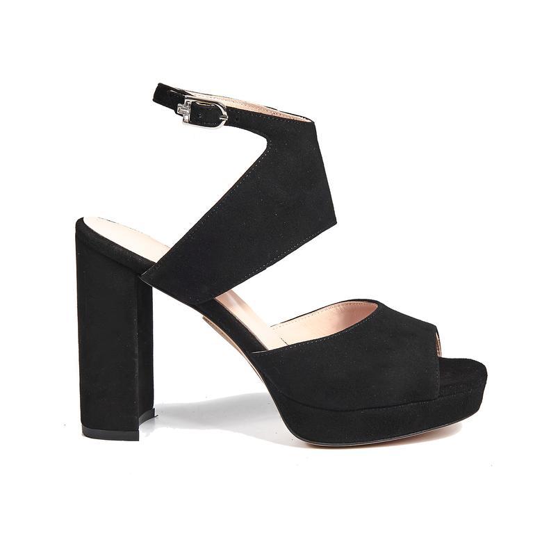 Aurora Kadın Deri Topuklu Sandalet
