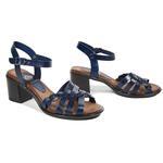 Harlow Kadın Topuklu Deri Sandalet