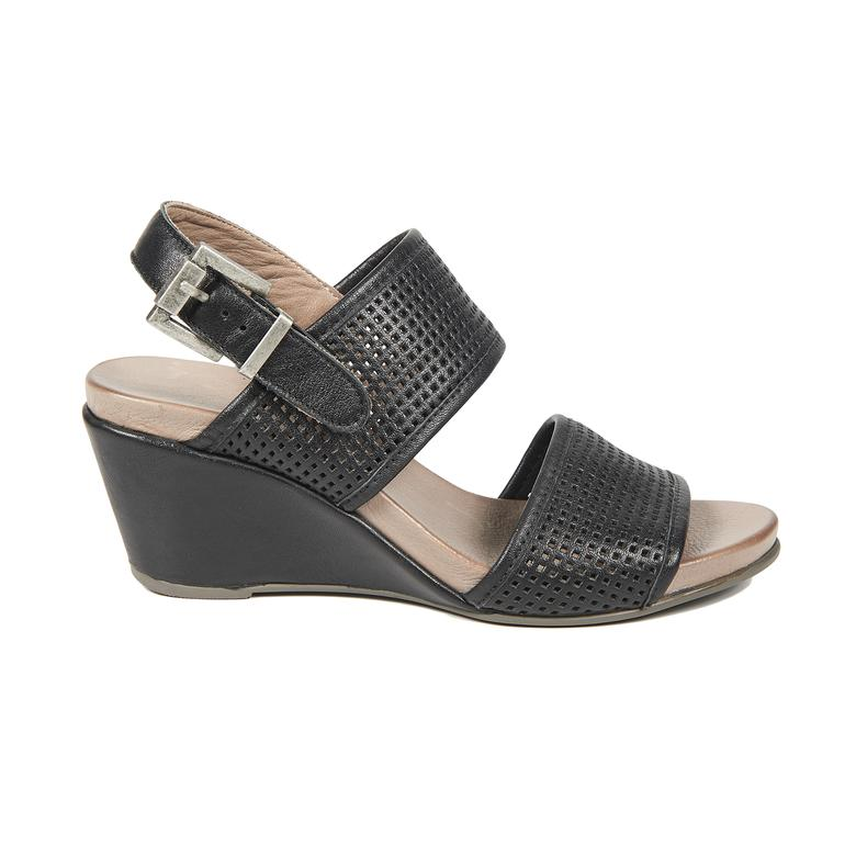 Kendall Deri Kadın Sandalet
