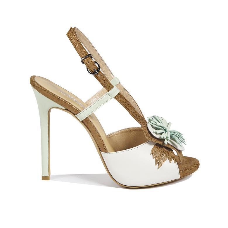 1972 Sandra Kadın Deri Sandalet