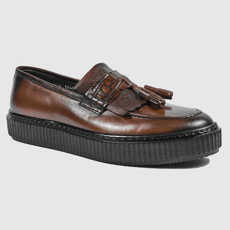 Winston Erkek Deri Günlük Ayakkabı 2010042263003