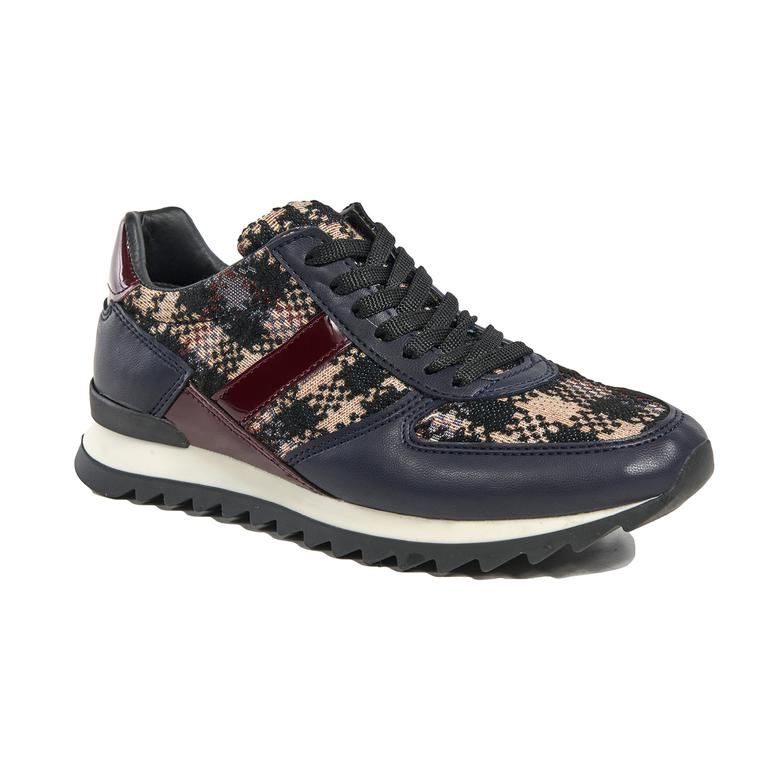 Ekose Kadın Spor Ayakkabı