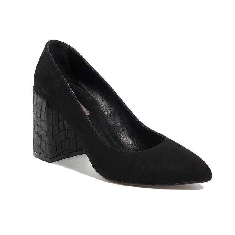 Kadın Deri Klasik Topuklu Ayakkabı 2010042107004