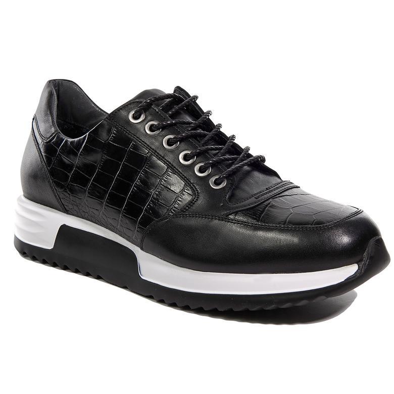Erkek Deri Sneaker 2010042265003