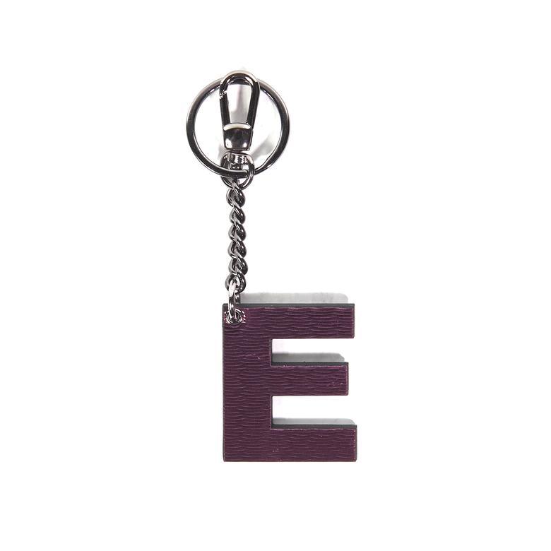 E Harfi Deri Anahtarlık 1010025967001