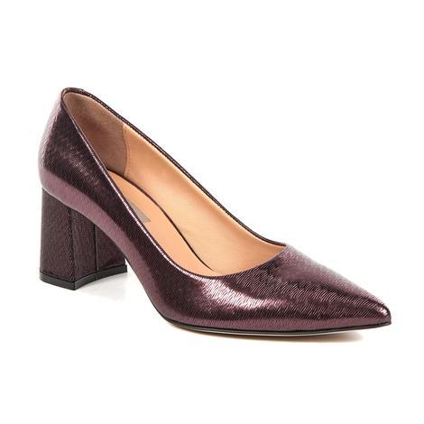 Kadın Deri Klasik Topuklu Ayakkabı 2010041743001