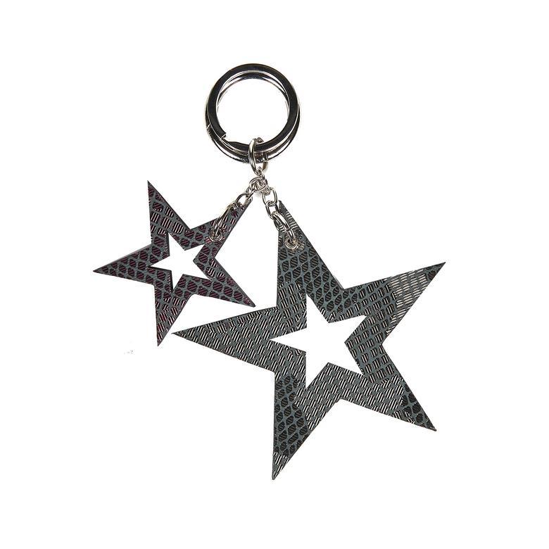 Yıldız Desenli Deri Anahtarlık 1010026033001
