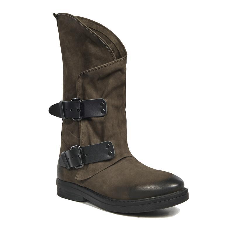 Agusta Kadın Deri Çizme 2010041660006