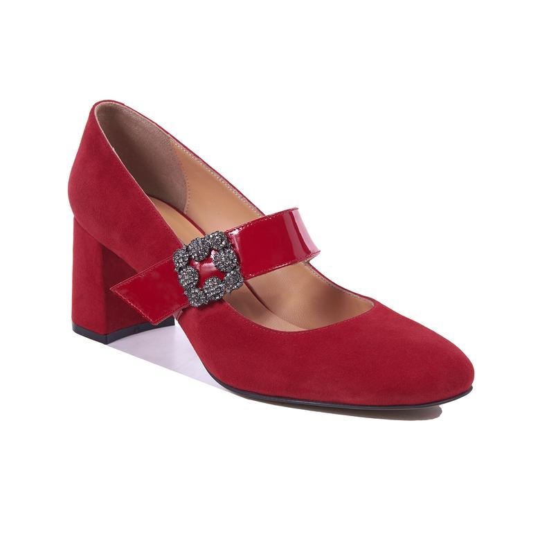 Bessie Kadın Deri Topuklu Ayakkabı 2010041742006