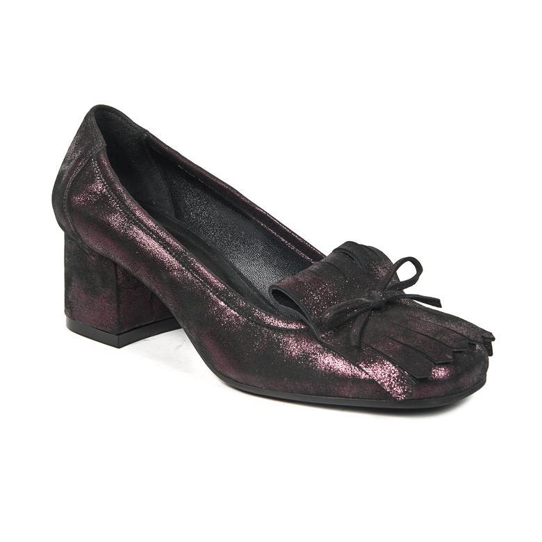 Fringe Kadın Deri Klasik Ayakkabı