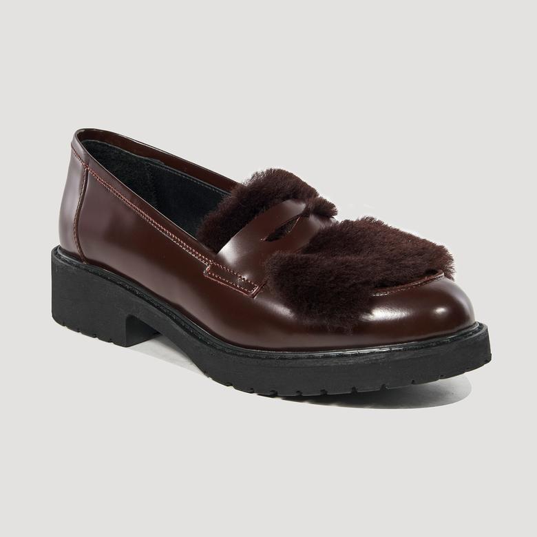 Nunda Kadın Deri Günlük Ayakkabı 2010042209007