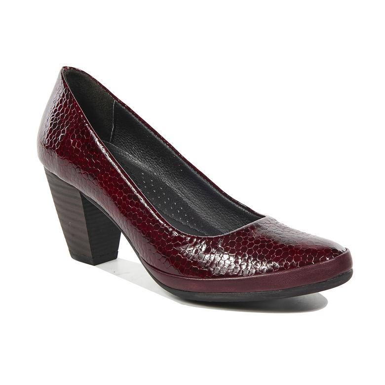 Nancy Kadın Deri Klasik Topuklu Ayakkabı 2010042227006