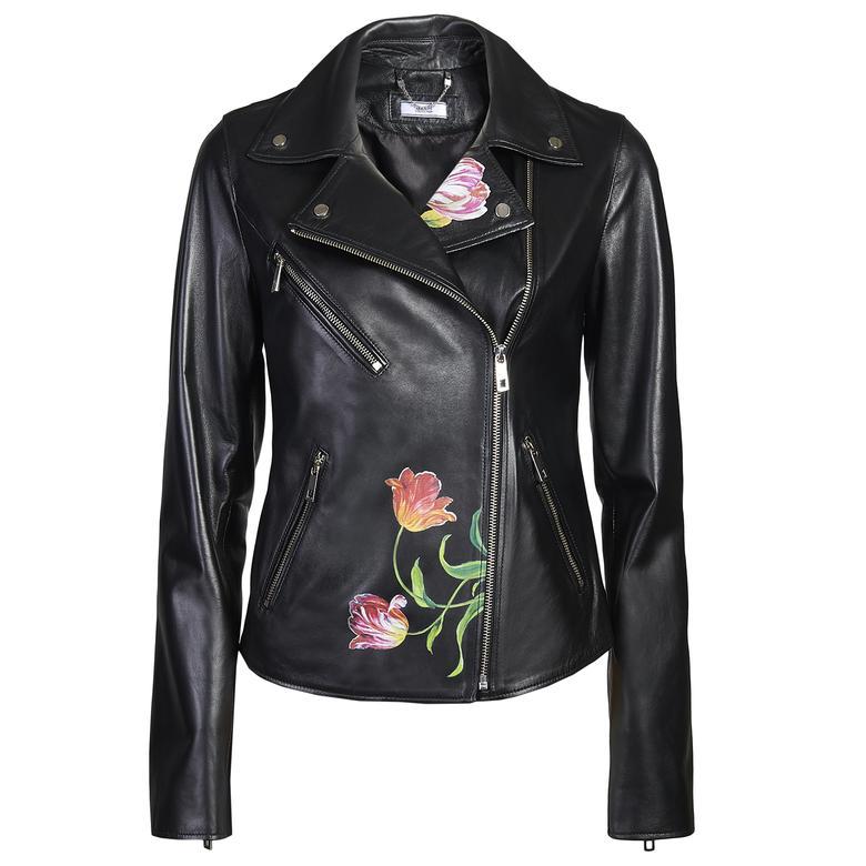 Tulipani Kadın Baskılı Ceket